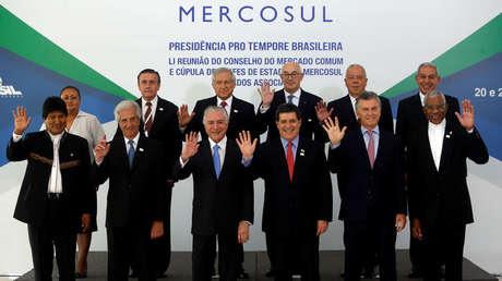 Cumbre anual de Mercosur en Brasilia. 21 de diciembre de 2017.