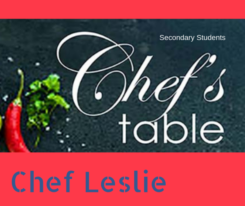 2018 Chef's Table