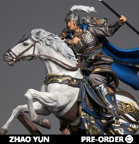 Three Kingdoms Five Tiger Generals Zhao Yun 1/7 Scale Statue