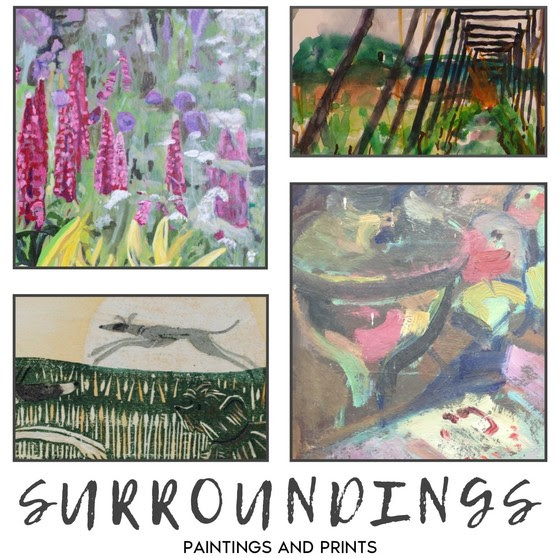 Linden Hall Studio Exhibition - Surroundings