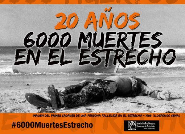 Tras 20 años de políticas migratorias de la muerte, 6.000 personas han perdido la vida en nuestra Frontera Sur intentando alcanzar una vida digna