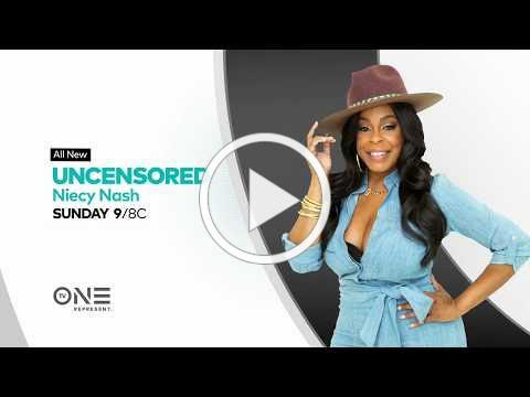 Niecy Nash | UNCENSORED | November 3rd at 9/8c