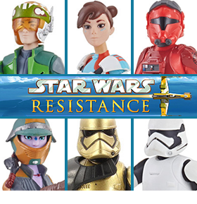 Star Wars Resistance Wave 1