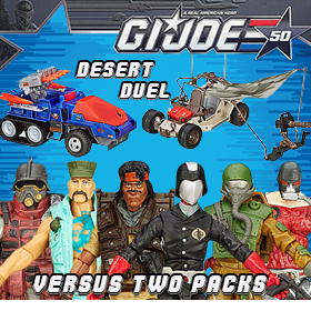 GI JOE 50TH ANNIVERSARY EXCLUSIVES