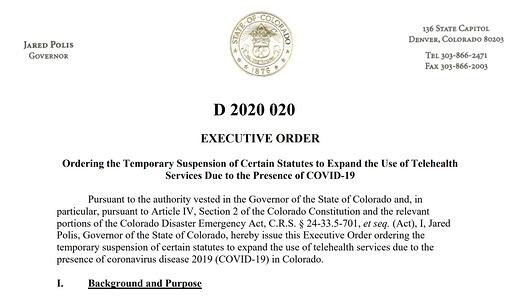 Colorado Order Printscreen