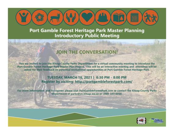 Port Gamble master plan meeting
