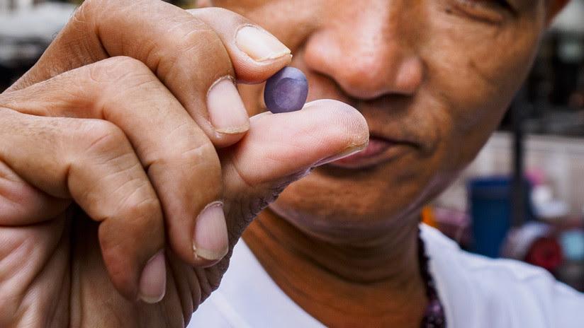 FOTOS: Hallan en Israel un desconocido mineral extraterrestre