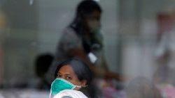 Paciente en un hospital brasileño.