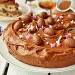Торт пасхальный Коньячный изюм