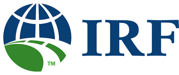 IRF Logo Blue Text