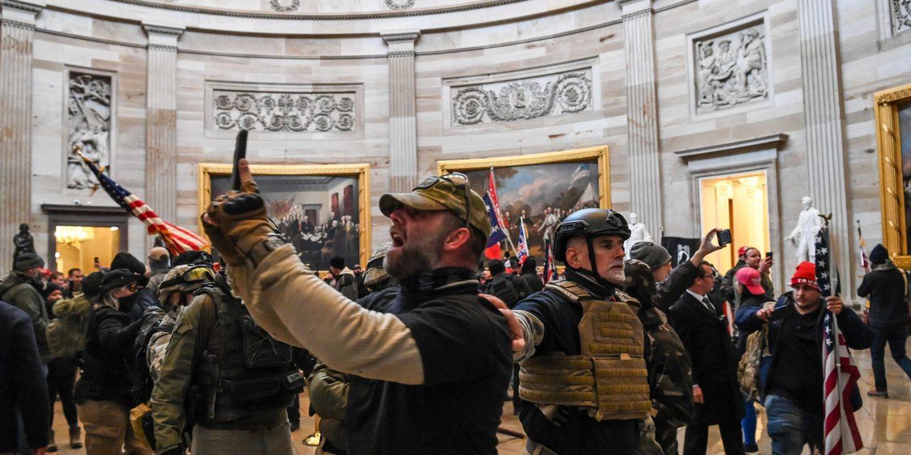 ¿Sigue siendo fascismo el fascismo incompetente?Sobre la ofensiva de extrema derecha en el Capitolio