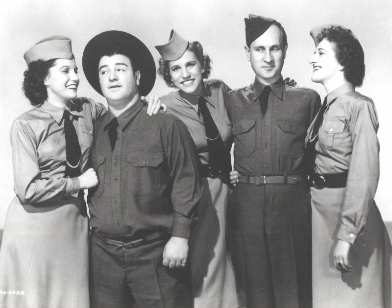 BUCK PRIVATES Turns 73 In The Abbott And Costello Newsletter Once Upon A Screen