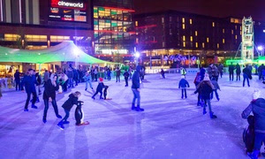 Ice Skating Session: Child £6, Adult £10