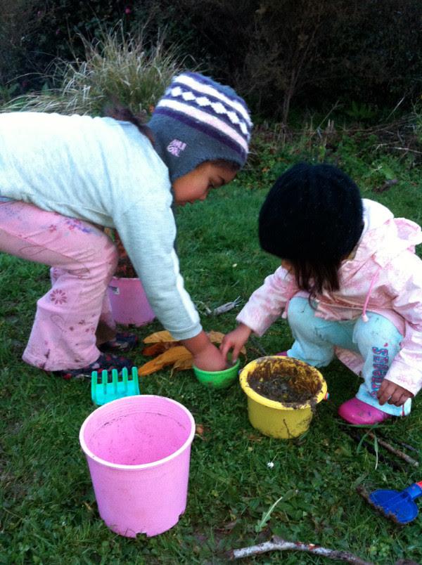 Girls in mud!