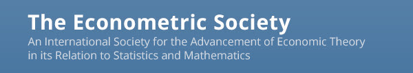 The Econometric Society