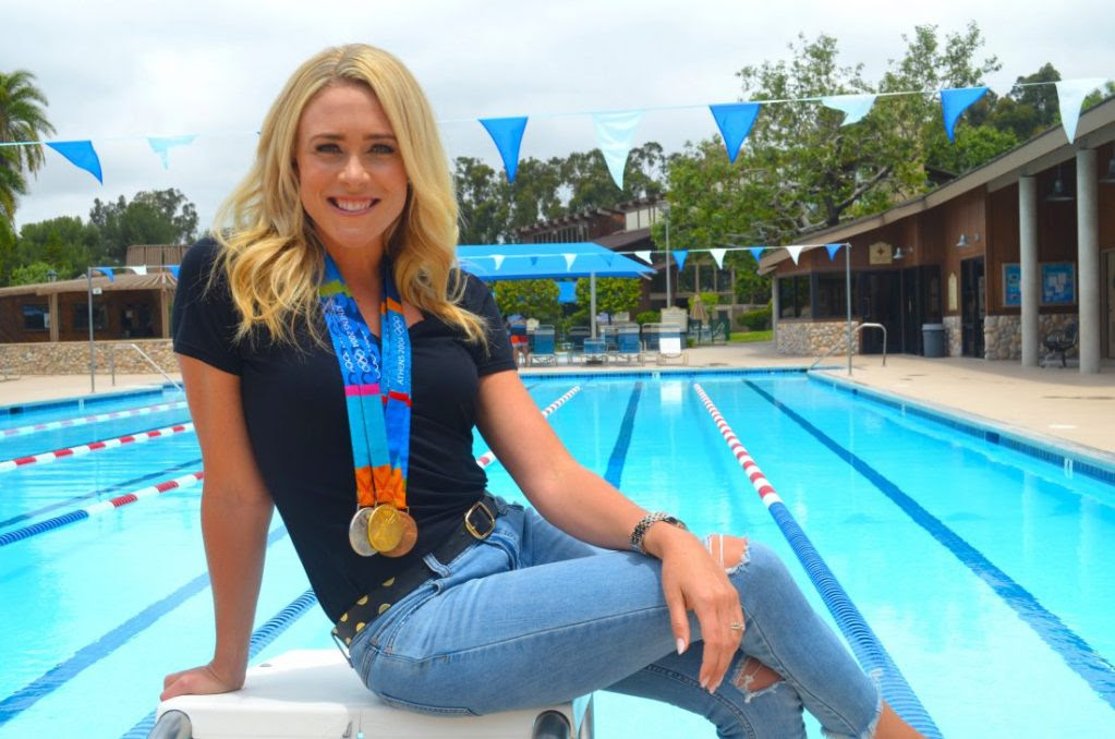 Kaitlin Sandeno Embracing Historic Role as International Swimming ...