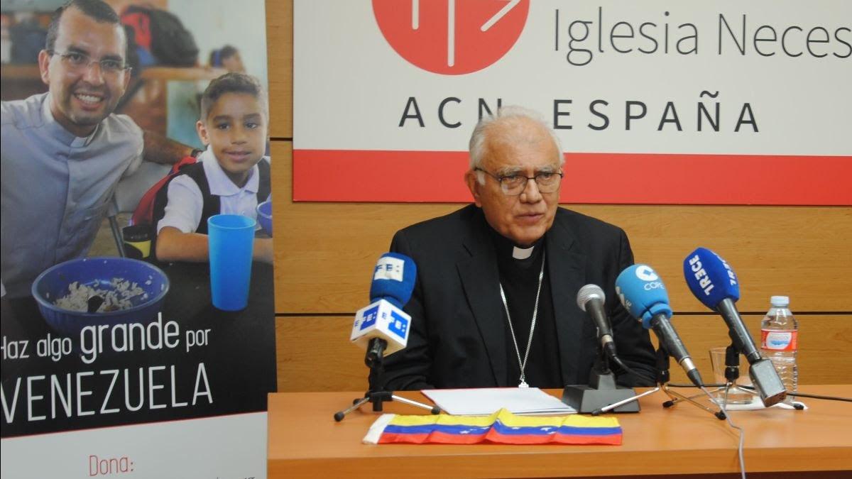 """El cardenal Porras, sobre Venezuela: """"Queremos una salida  que sea pacífica y democrática, sin lenguaje bélico, nos necesitamos todos"""""""