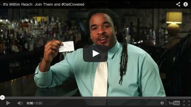 YouTube Embedded Video: It's Within Reach: Join Them and #GetCovered