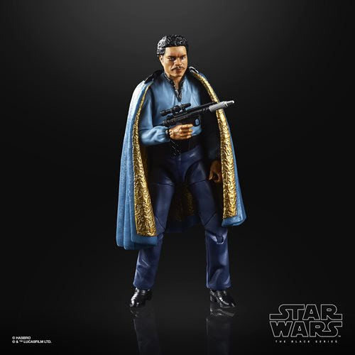 Image of Star Wars The Black Series Empire Strikes Back 40th Anniversary 6-Inch Lando Calrissian Action Figure Wave 2 - AUGUST 2020