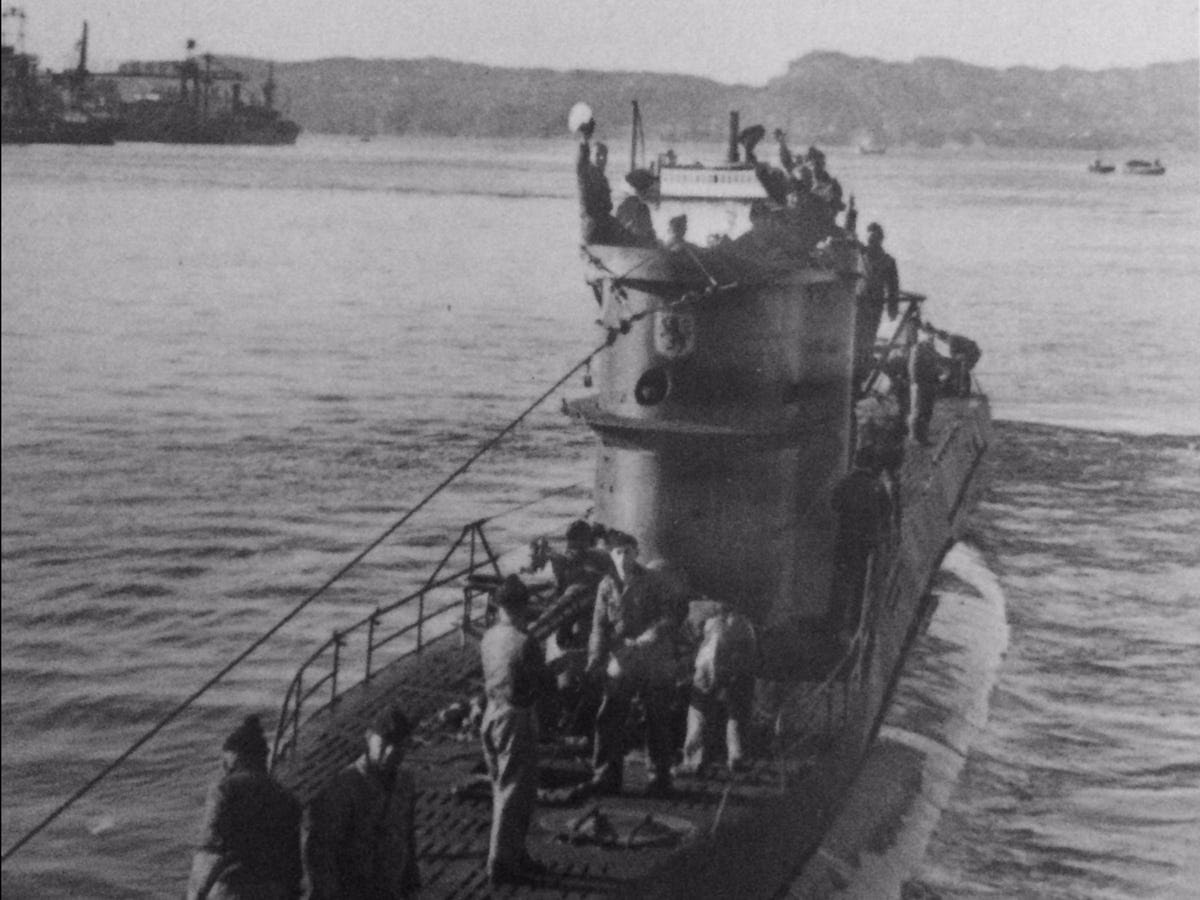 11. Only one outof                                                every four men serving                                                on U-boats survived.