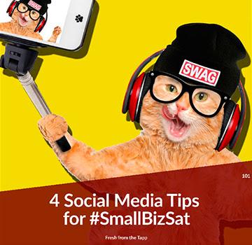 4 Social Media Tips for #SmallBizSat
