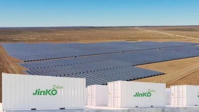 JinkoSolar Energy Storage Project in West Africa