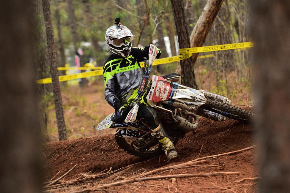 Zack Davidson continued his dominance in the 8 a.m. youth race, taking his third straight win of the season.