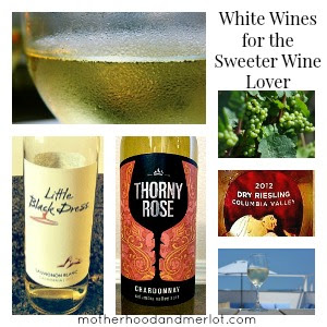 wine collage 6 Bold White Wines for the Sweet Wine Lover