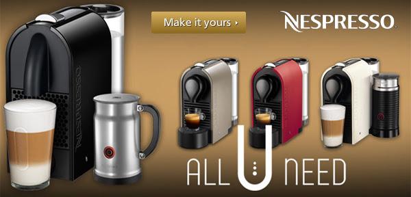 Nespresso U Coffee Machine
