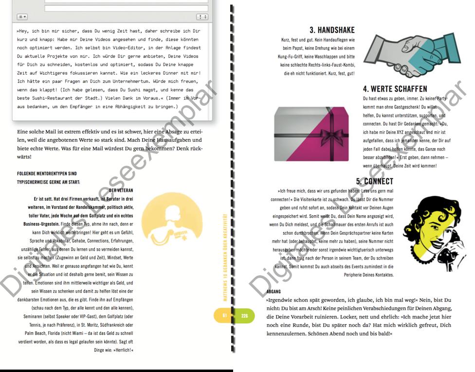 Exklusiver Screenshot aus dem Buch - Tipps und Tricks in hochkomprimierter Form