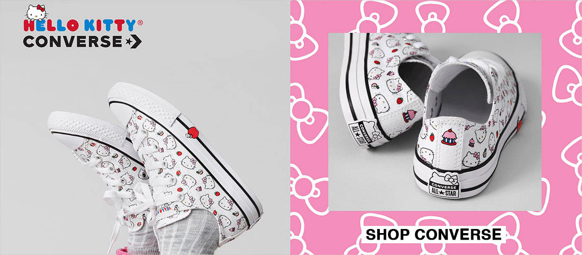 Hello Kitty Converse! New and.