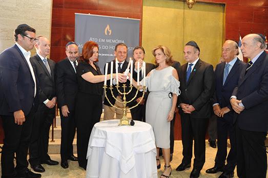 Comunidade judaica paulista faz uma noite de homenagens pelo Dia Internacional em Memória das Vítimas do Holocausto