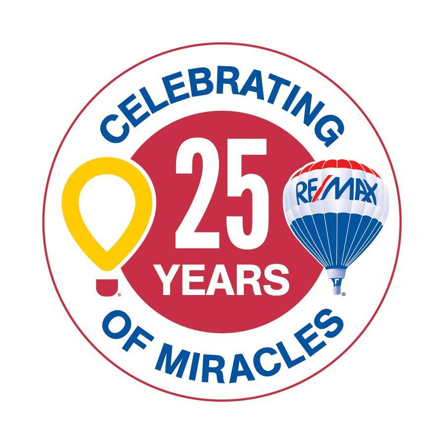 REMAX 25th Anniversary Logo