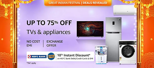 tvs and appliances offers