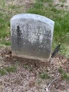 Homer Peckham headstone
