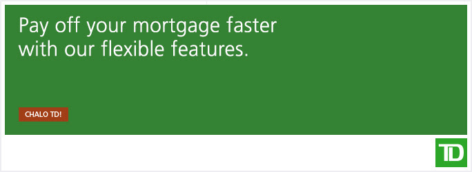 TD Flexible Mortgage Features