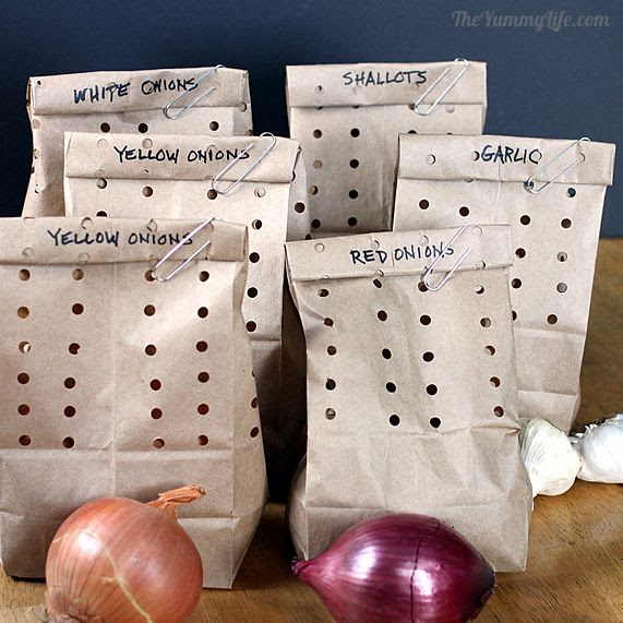 How to Store Onions, Garlic, & Shallots 6009