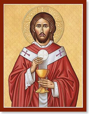 Znalezione obrazy dla zapytania JEZUSA CHRYSTUSA NAJWYÅ»SZEGO I WIECZNEGO KAPÅ ANA ÅšwiÄ™to