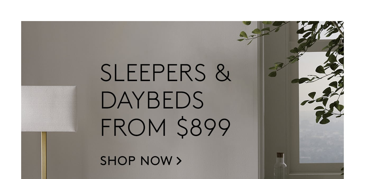 sleepers & daybeds from $899