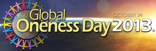 Global Oneness Day Banner