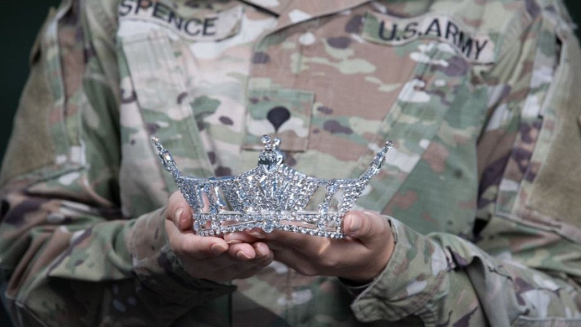 Active duty soldier is missing a rotation in Iraq to compete for Miss America
