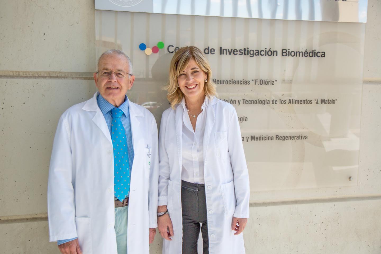Dra. Germaine Escames y Dr. Darío Acuña, Directores científicos de Pharmamel