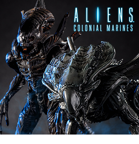 1:18 SCALE CRUSHER AND RAVEN XENOMORPH ACTION FIGURES