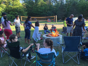 Family Campout Event at Maybury State Park