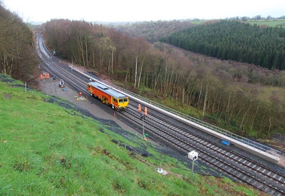 Settle-Carlisle line reopens after orange army repairs to major landslip