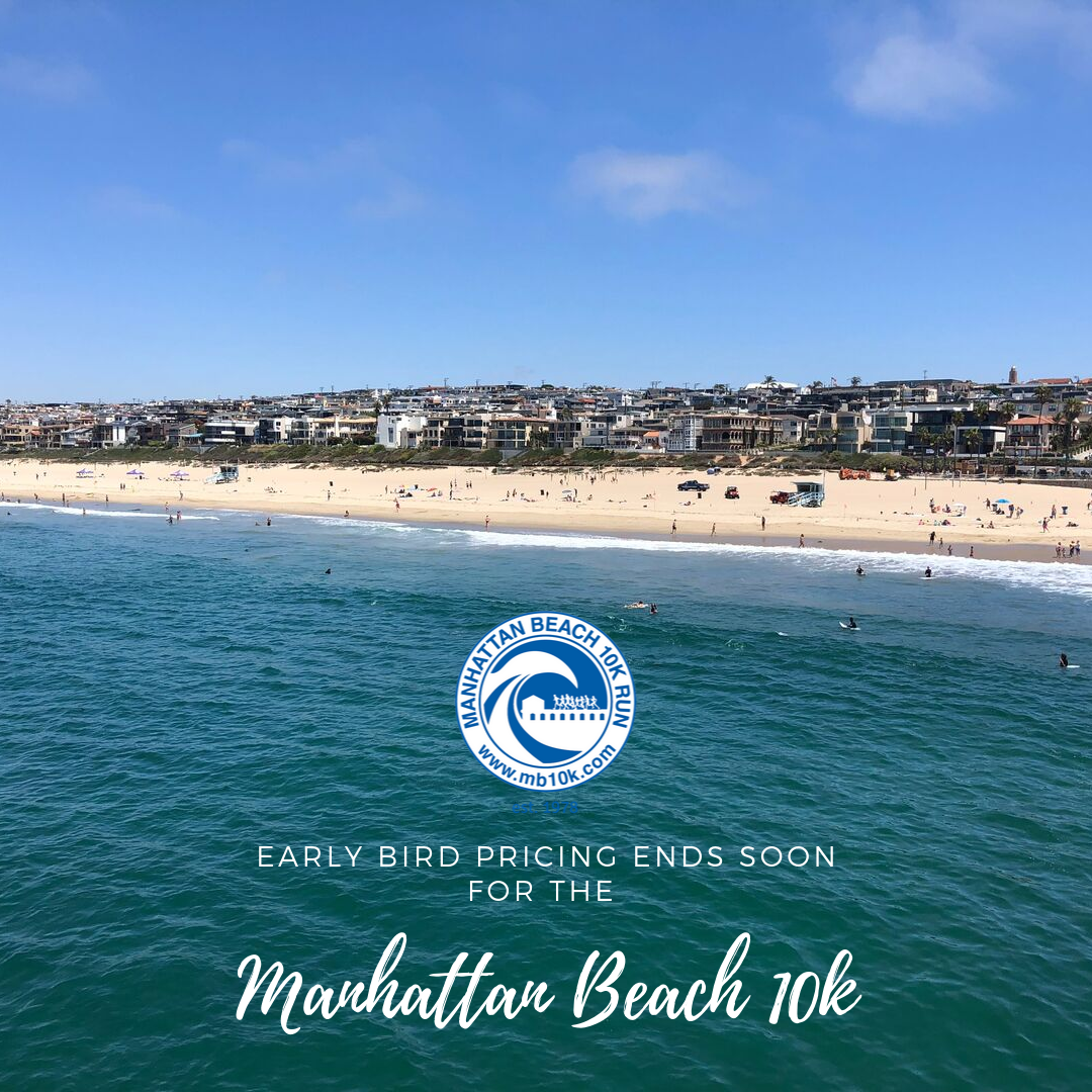 Image of Manhattan Beach from the pier looking to the strand.