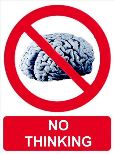 No Thinking - Public Domain