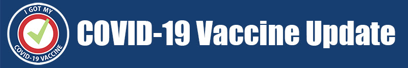 COID 19 Vaccine UPdate Banner