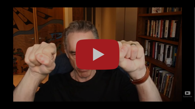 "@Jordan B Peterson vulnerable comments on Jesus Christ- ""it's too terrifying."""