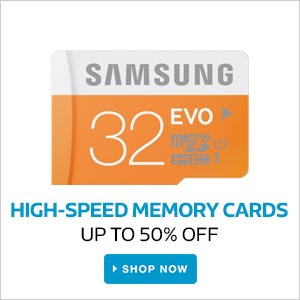 Memory Cards | Upto 50% Off